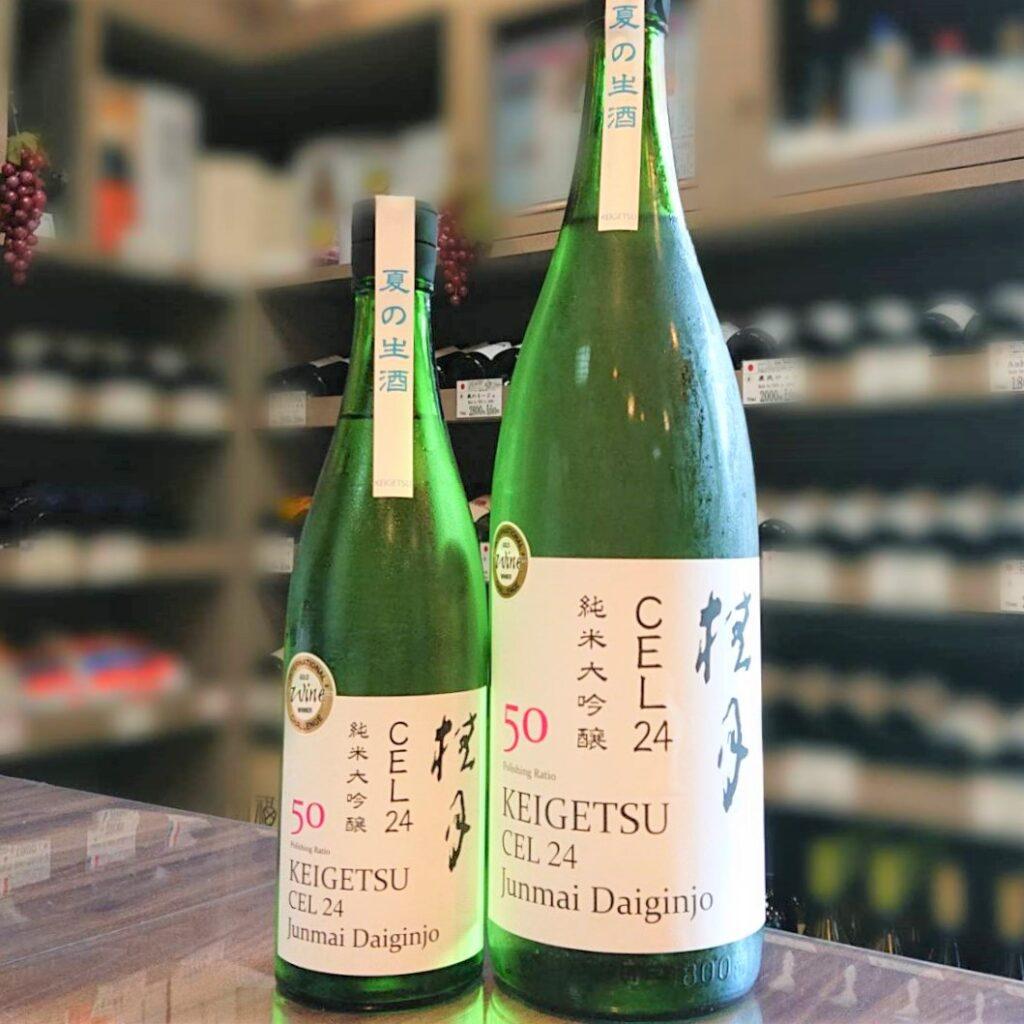 桂月(けいげつ)CEL24 純米大吟醸 50 夏の生酒