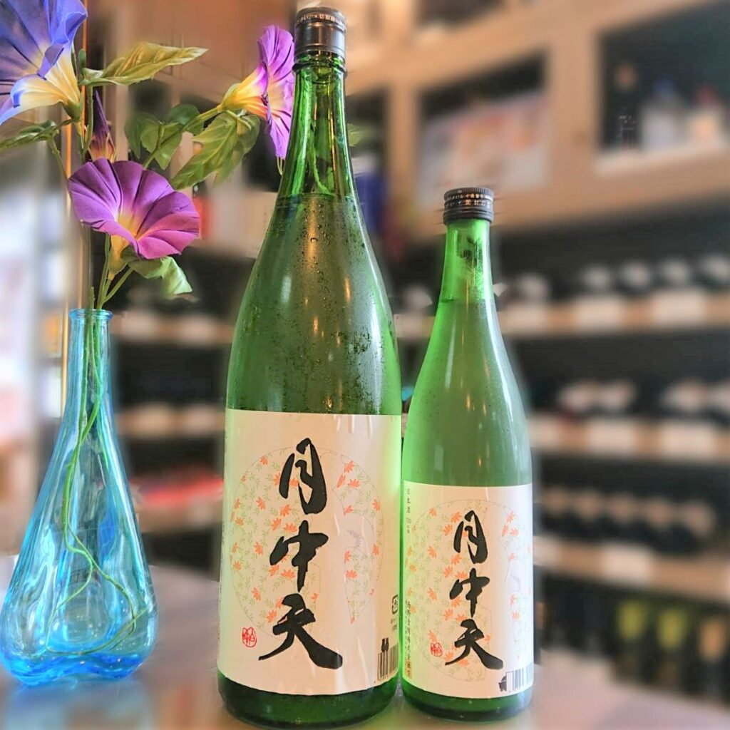 香川 月中天(げっちゅうてん)純米酒 加水一回火入