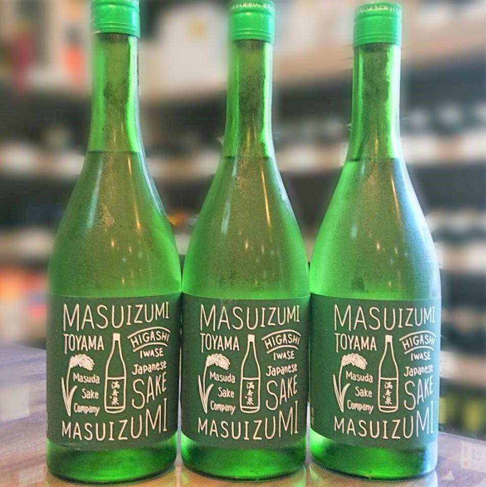 満寿泉(ますいずみ)GREEN 火入 ワイン酵母仕込 純米酒