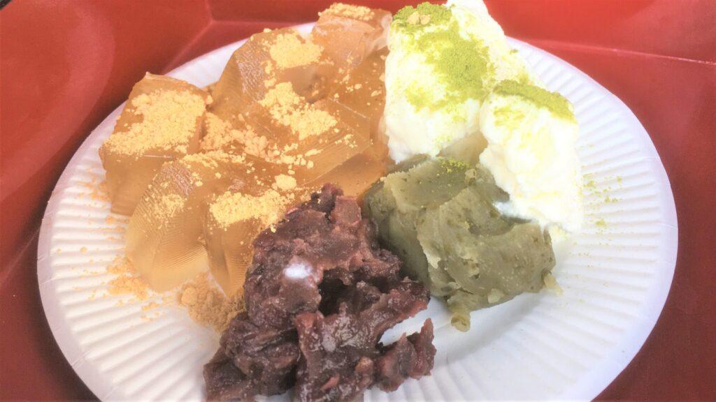 西高島平 よしのや 葛餅・かき氷